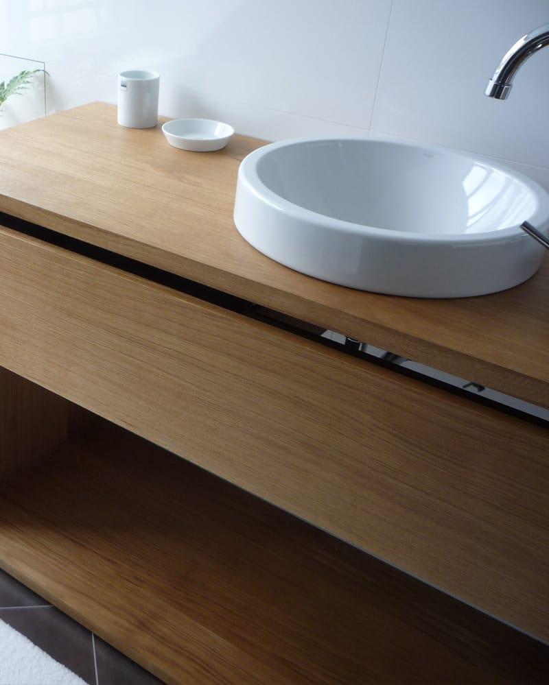 Waschtischschrank Holz