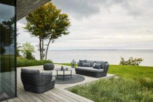 Outdoor-Designsitzecke Basket von Cane-line.
